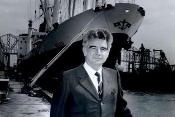 Francisco Onzáin, histórico capitán de Trasatlántica