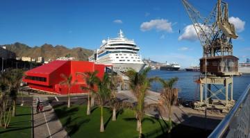 AIDA Cruises restablece su base de operaciones en el puerto de Santa Cruz de Tenerife