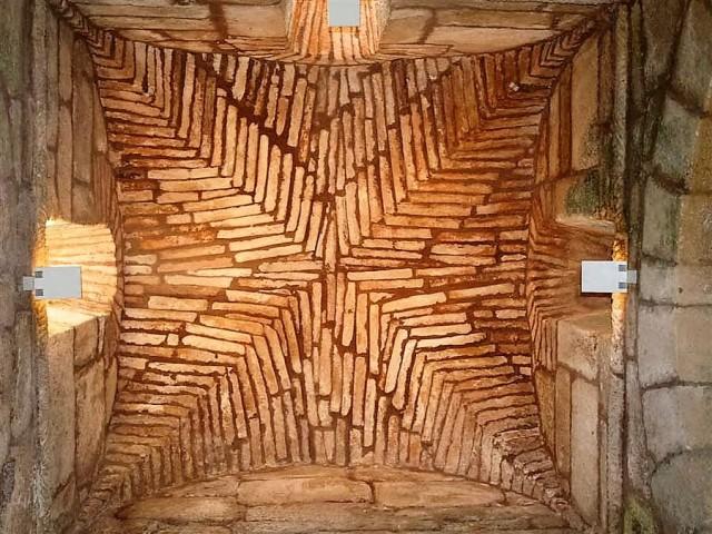 Santa Comba de Bande. Interior del cimborrio
