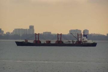 """El buque """"Valle de Ibaizábal"""", en su etapa como """"White Orchid"""""""