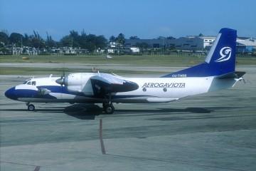 Avión An-26 de Aerogaviota
