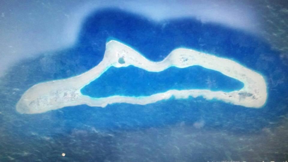 """Este es el atolón en el que se ha producido el accidente del metanero """"Sevilla Knutsen"""""""