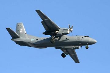 Antonov An-26B del MINFAR