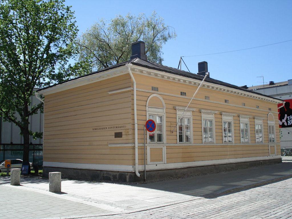 Casa natal de Sibelius en Hameenlinna