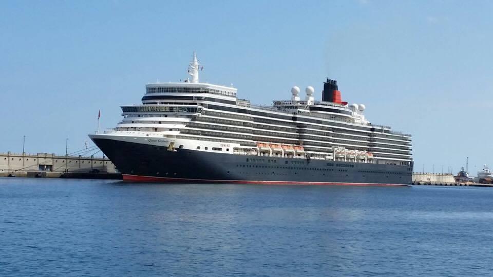 Cunard es un cliente de prestigio en el puerto de Santa Cruz de Tenerife