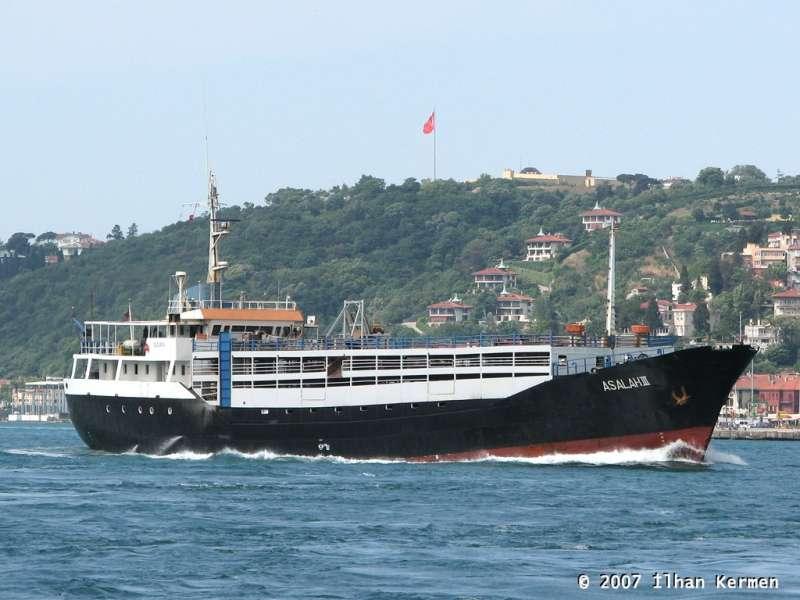 """Con el nombre de """"Asalah III"""", en aguas de Istambul"""