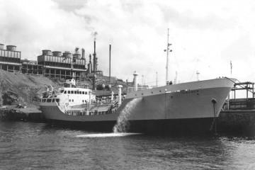 """El butanero """"Tamames"""" fue el buque en el que más tiempo estuvo embarcado como jefe de máquinas"""