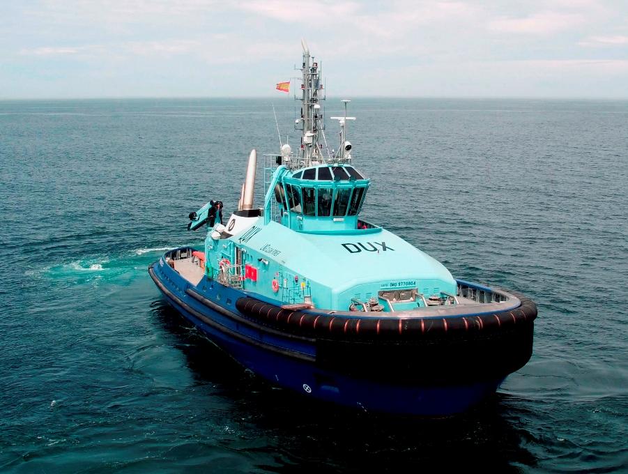 El buque está proyectado para operar en condiciones meteorológicas extremas