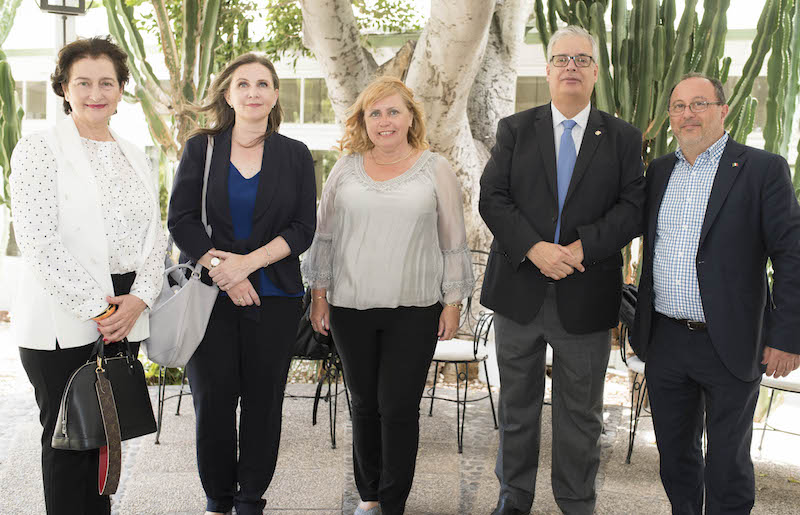 Cónsules de Uruguay, Noruega, Hungría, Finlandia e Italia