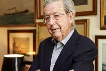 Joaquín María Tintoré, en su domicilio de Barcelona
