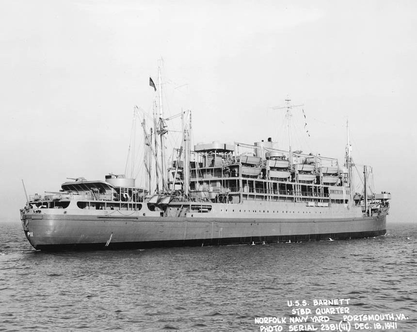 """El buque """"USS Barnett"""", reclasificado como transporte de ataque"""