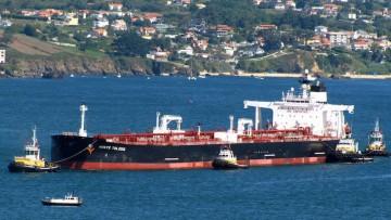 """""""Monte Toledo"""", petrolero tipo suezmax de la flota de Ondimar Transportes Marítimos"""