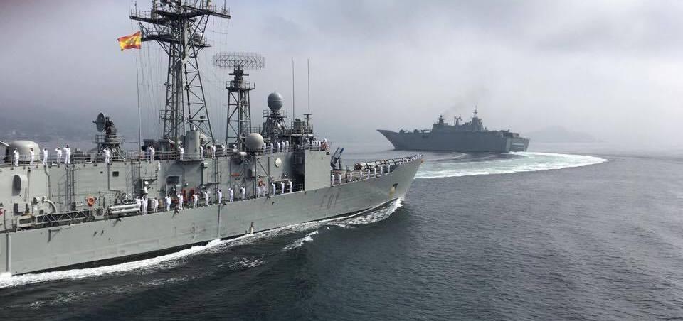 """Fragata clase F-80, tras la estela del """"Juan Carlos I"""""""