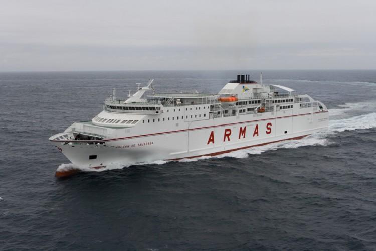 Naviera Armas dejó una huella en el transporte marítimo de Madeira