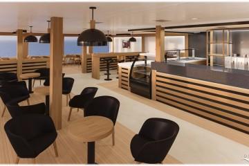 """El interior del buque """"Ciudad de Ibiza"""" presenta nueva imagen"""