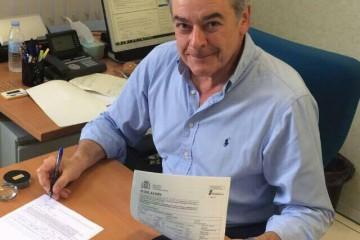 El capitán Javier Gárate Hormaza se jubila después de 32 años en Salvamento Marítimo