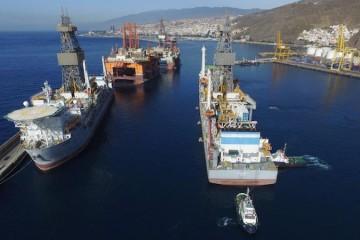 La actividad off shore en el puerto tinerfeño ha abierto un nuevo ciclo económico