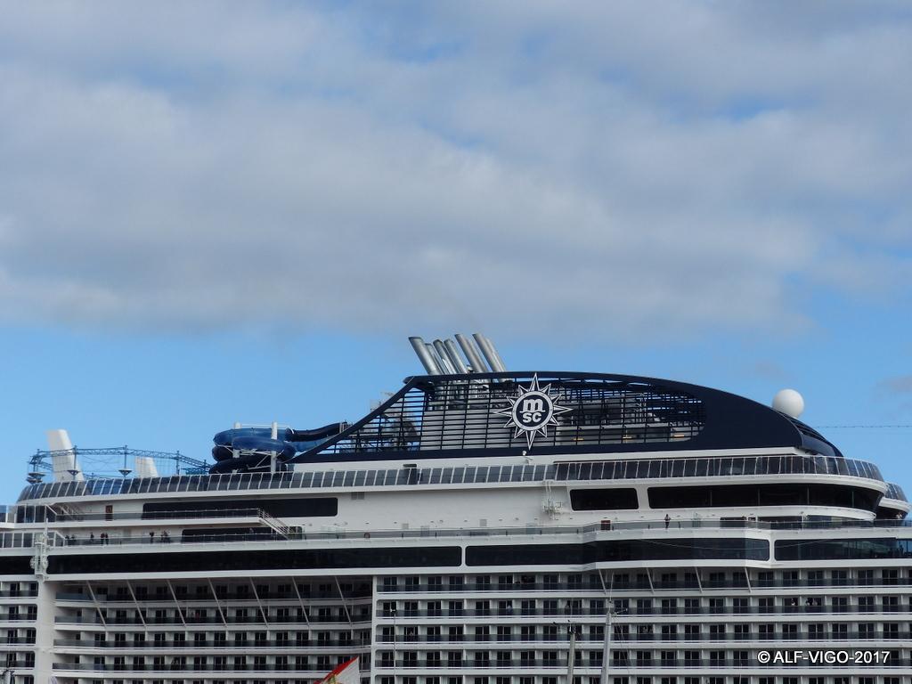 El nuego buque es el emblema de MSC Cruceros