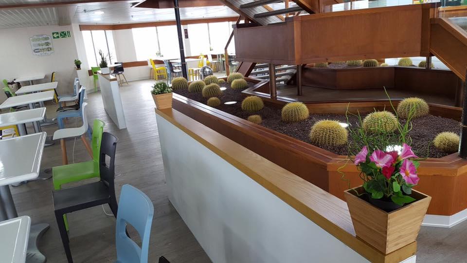 La renovación interior hará más agradable la estancia a bordo