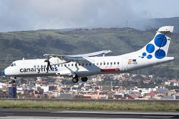 ATR-72 EC-IZO, operado por Canaryfly