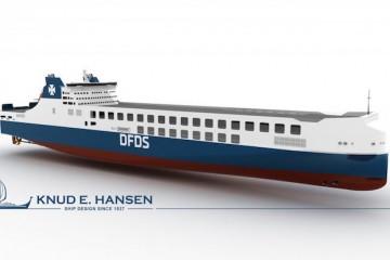 Este es el aspecto externo de los futuros buques de DFDS