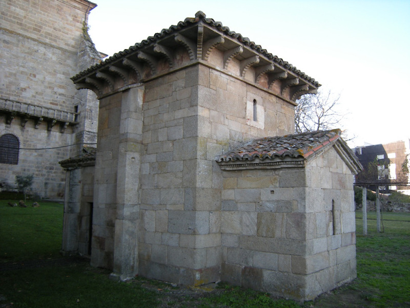 Es un monumento único, englobado en San Salvador de Celanova
