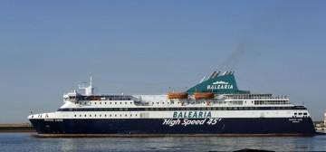 """El buque """"Nissos Chíos"""" será el encargado de abrir la línea Almería-Nador"""