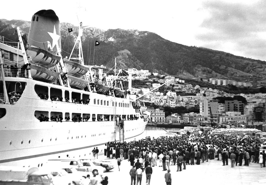 """La llegada del """"Surriento"""" fue un acontecimiento en la historia de La Palma"""
