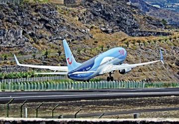 El movimiento del aeropuerto de La Palma demuestra la recuperación del tráfico de pasajeros