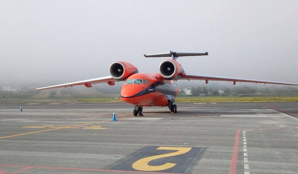 Antonov An-74TK carguero, en el que llegó la pieza de repuesto principal