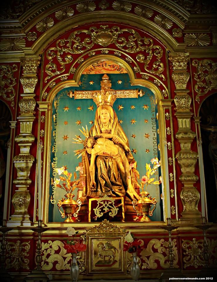 Imagen flamenca de Nuestra Señora de las Angustias