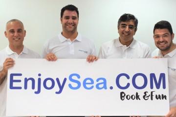 Foto de familia de los promotores de EnjoySea.com
