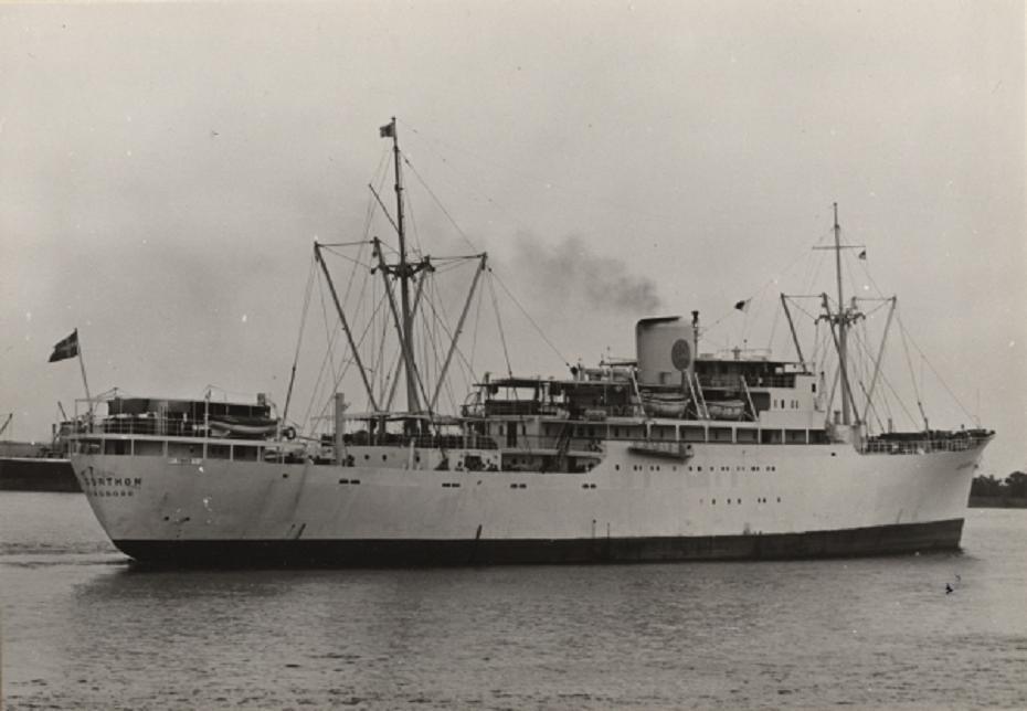 El buque fue un digno exponente de la construcción naval sueca de la posguerra