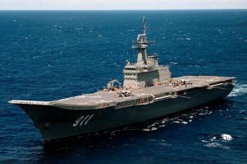"""El diseño del buque está basado en el portaaeronaves español """"Príncipe de Asturias"""""""