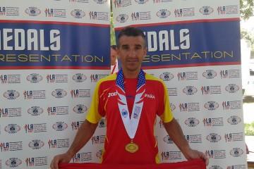 José Luis del Campo, policía del puerto de Valencia y destacado atleta