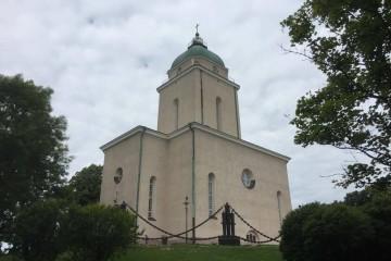 La iglesia castrense luterana de Suomelinna, en su apariencia actual
