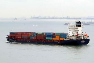 """El buque """"Verónica B"""" (en la imagen cuando se llamaba """"ER Turku""""), está fletado al servicio de Boluda"""