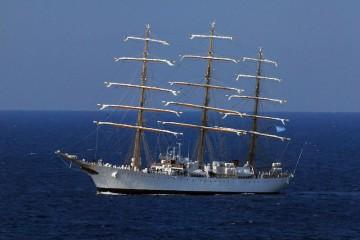 """La fragata argentina """"Libertad"""" volverá de nuevo a Santa Cruz de Tenerife"""