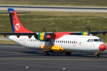 Un avión de DAT similar al de la imagen estará como mínimo un mes al servicio de Canaryfly