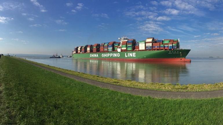 """Situación en la que se encuentra el buque portacontenedores chino """"CSCL Júpiter"""""""