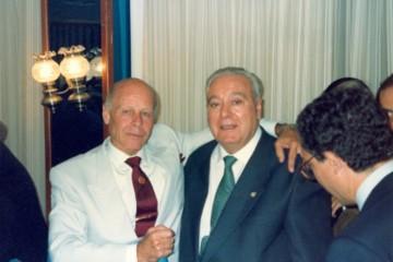 Tomás Ravelo García, Salvador Ventura Moreno, capitán, Compañía Trasmediterránea,