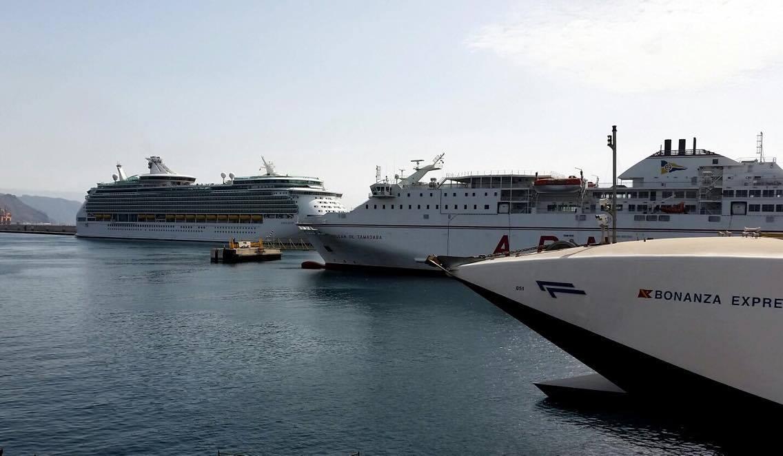 Royal Caribbean es uno de los clientes destacados del puerto de Santa Cruz de Tenerife