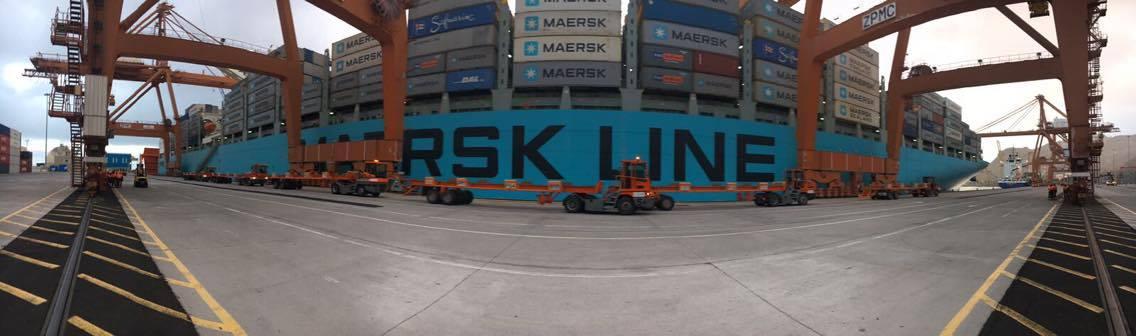 La presencia de Maersk en Tenerife es importante y tiene proyección de futuro