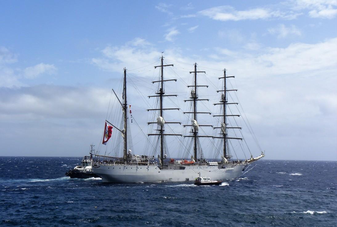 Es el velero mayor de Latinoamérica. El proyecto es español