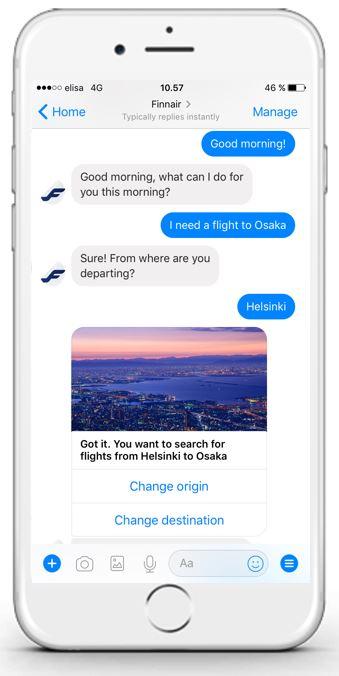 la aplicación Finn ha sido desarrollada por una empresa de Barcelona