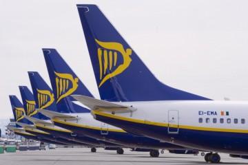 Ryanair para 25 aviones para ajustar su programación