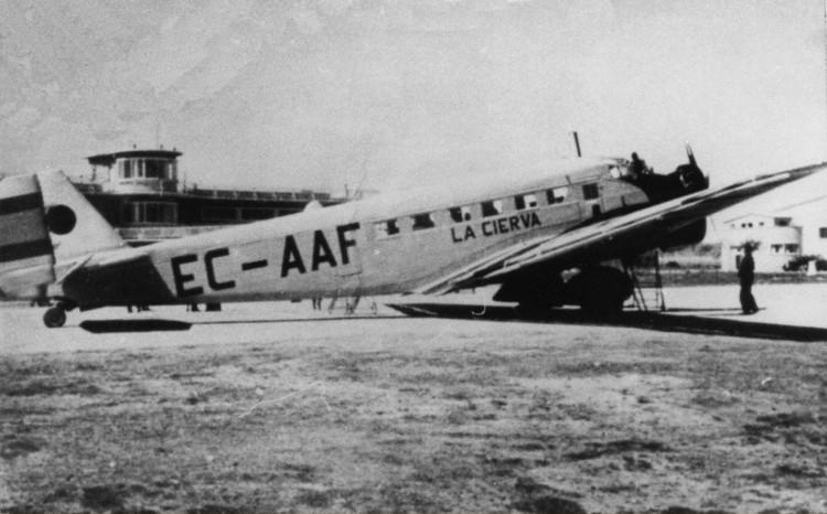 """Junkers Ju-52 EC-AAF """"La Cierva"""""""