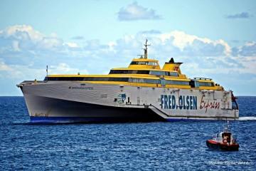 """El buque """"Benchijigua Express"""" cubrirá mañana la línea Tenerife-Agaete"""