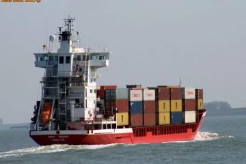 """El buque """"Romy Trader"""" estará fletado hasta la reincorporación del """"Volcán de Teneguía"""""""