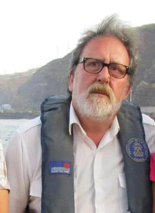 El capitán Francisco Noguerol Cajén se jubila después de 12 años como práctico del puerto de Santa Cruz de La Palma